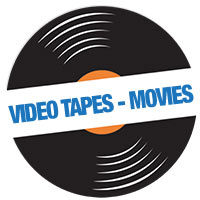 Video Tapes - Movies