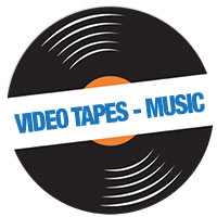 Video Tapes - Music